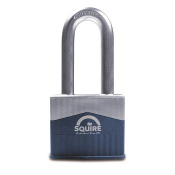 """Squire Warrior 65mm Padlock - Long Shackle 2.5"""""""