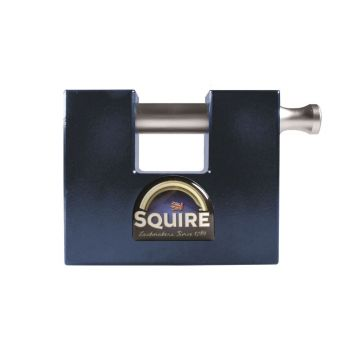 Squire WS75SKA Restricted Profile - Stronghold WS75 Container Padlock - Modified To Fit New & Old Containers - Keyed Alike