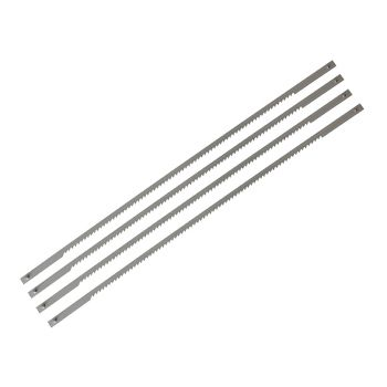 Stanley Coping Saw Blades 165mm (6.3/4in) 14tpi (Card 4) - STA015061