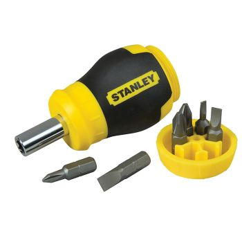 Stanley Stubby Screwdriver - Non Ratchet - STA066357