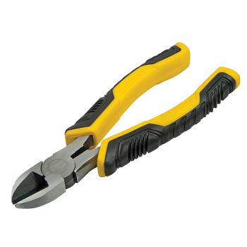 Stanley ControlGrip Diagonal Cutting Pliers 200mm (8in) - STA074455