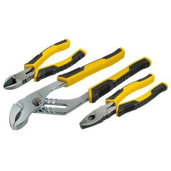 Stanley ControlGrip Plier Set, 3 Piece - STA074471