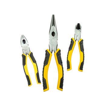 Stanley ControlGrip Pliers Set 3 Piece - STA075094