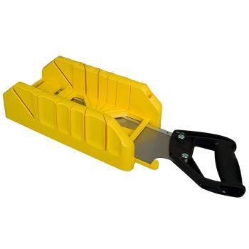 Stanley Saw Storage Mitre Box with Saw - STA119800