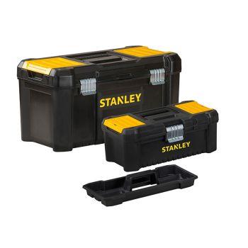 Stanley Essential Toolbox Bonus Pack 32cm (12.1/2in) & 48cm (19in) - STA175772