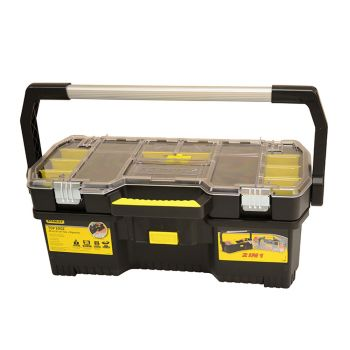 Stanley Toolbox with Tote Tray Organiser 60cm (24in) - STA197514