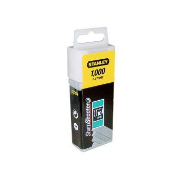 Stanley Flat Narrow Crown Staples 12mm CT308T Pack 1000 - STA1CT308T
