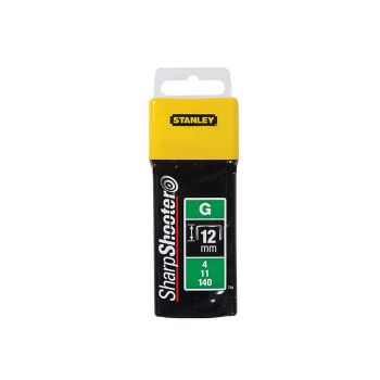 Stanley Heavy-Duty Staples 12mm Pack 5000 - STA1TRA7085T