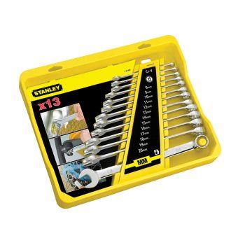 Stanley Metric FatMax Combination Spanner Set, 13 Piece - STA494648