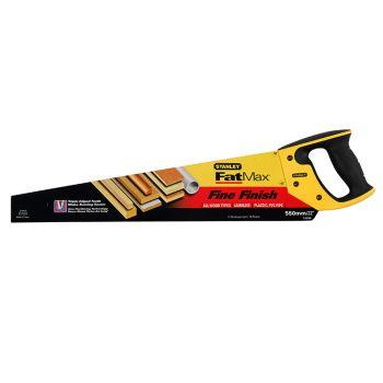 Stanley FatMax Fine Cut Handsaw 550mm (22in) 11tpi - STA515244