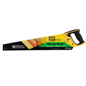 Stanley FatMax Heavy-Duty Handsaw 550mm (22in) 7tpi - STA515289