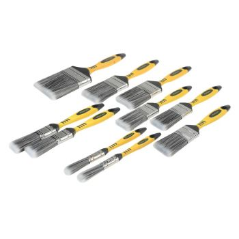 Stanley Synthetic Brush Pack Set, 10 Piece - STASTPPLF10