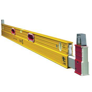Stabila Extendable Spirit Level 3 Vial 183-315cm - STB106T183
