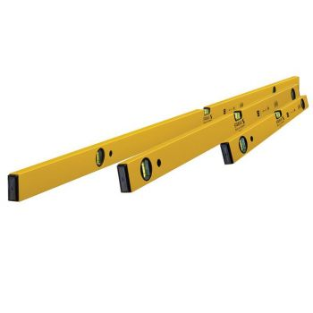 Stabila Double Plumb Spirit Level Pack 60cm, 120cm & 180cm - STB702SET