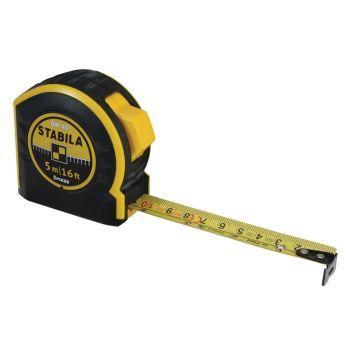 Stabila Pocket Tape 5m/16ft (Width 19mm) - STBBM405