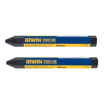 IRWIN Crayons Black (Card of 2) - STL666042