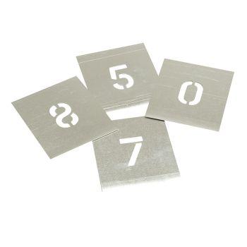 Stencils Set of Zinc Stencils - Figures 6in - STNF6