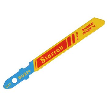 Starrett BU224-5 Metal Cutting Jigsaw Blades Pack of 5 - STRBU2245
