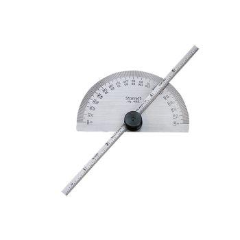 Starrett Protractor & Depth Gauge 150mm (6in) - STRC493ME