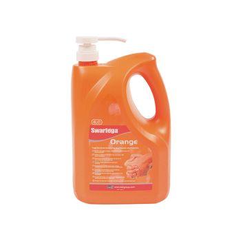 Swarfega Orange Hand Cleaner Pump Top Bottle 4 Litre - SWASOR4LMP