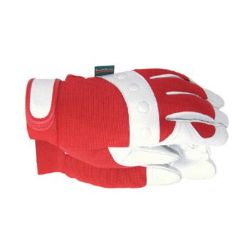 Town & Country Comfort Fit Red Gloves Ladies' - Medium - T/CTGL104M