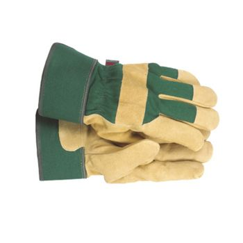 Town & Country Ladies' Fleece Lined Leather Palm Gloves - T/CTGL108M