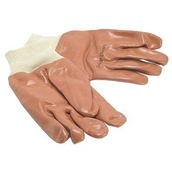 Town & Country Men's PVC Knit Wrist Gloves - T/CTGL402