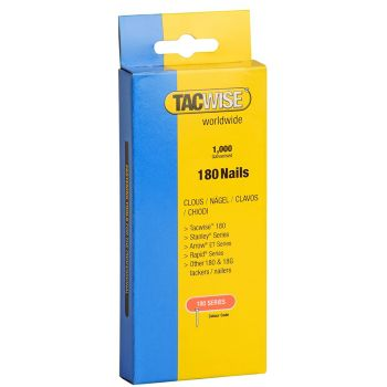 Tacwise 180 Series - 20mm Stainless Steel - 1510