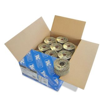 Tacwise 2.8 64mm Extra Galv Ring Coil Nails 4000 Pack - 0964