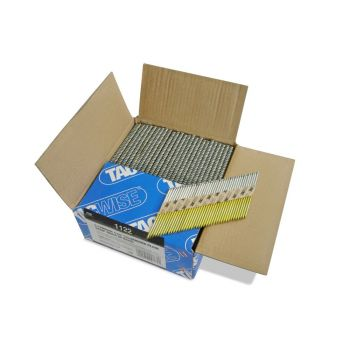 Tacwise 3.1 90mm Strip Nails Paper Collated CE/12 Micron 34º 2200 Pack - 1122