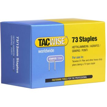 Tacwise 73 Series - 8mm Stainless Steel - Divergent Point - 1227
