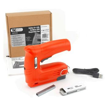 Tacwise Hobby 53EL Electric Staple Gun Kit with Staple Remover - 1038