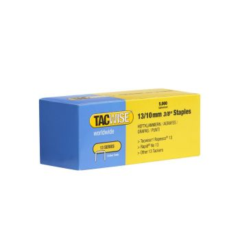 Tacwise Type 13 - 10mm Staples (5,000 Pack) - 0235