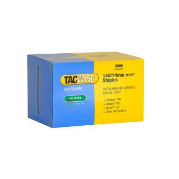 Tacwise Type 140 - 14mm Staples (5,000 Pack) - 0344