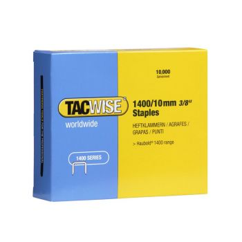 Tacwise Type 1400 - 10mm Staples (10,000 Pack) - 0378