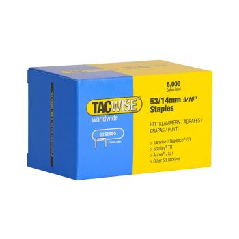 Tacwise Type 53 - 14mm Staples (5,000 pack) - 0452