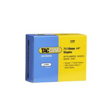 Tacwise Type 71 - 16mm Staples (10