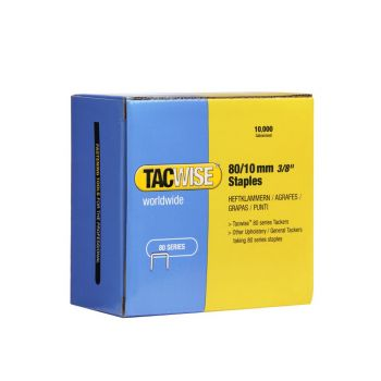 Tacwise Type 80 - 10mm Staples (10,000 Pack) - 0383