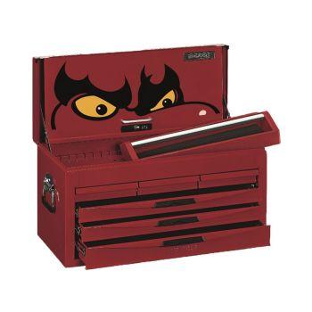 Teng 8 Series 6 Drawer Top Box, Red - TEN806NF