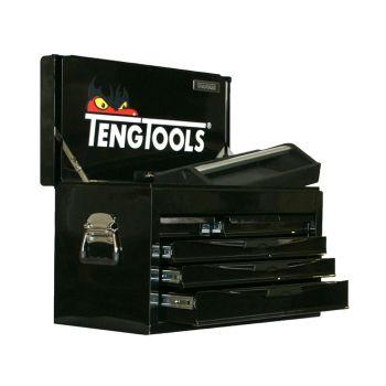Teng 8 Series 6 Drawer Top Box, Black - TEN806NGM