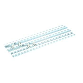 Teng 45cm Single Track Socket Clip Rail - TENALU450