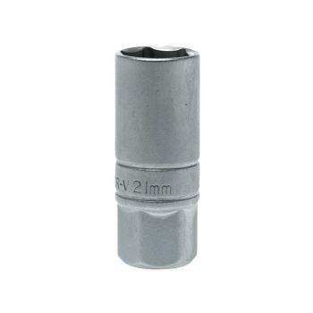 Teng Spark Plug Socket 1/2in Drive 21mm - TENM120046