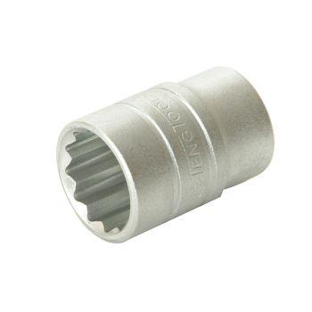 Teng Bi-Hexagon Socket 12 Point Regular A/F 1/2in Drive 1.1/4in - TENM120140