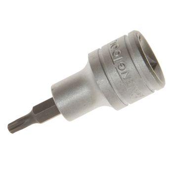 Teng TX Tamper Proof TORX Socket Bit 1/2in Drive T60 - TENM121260C