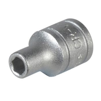Teng Hexagon Socket 6 Point Regular AF 1/4in Drive 1/2in - TENM140116