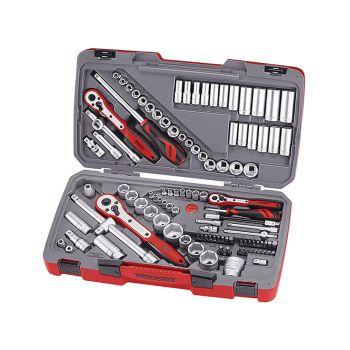 Teng Tool Set of 111 Metric & AF 1/4in, 3/8in & 1/2in Drive - TENTM111
