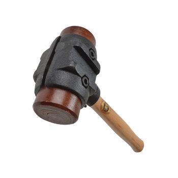 Thor Split Head Hammer Hide Size 5 (70mm) 3750g - THORH275