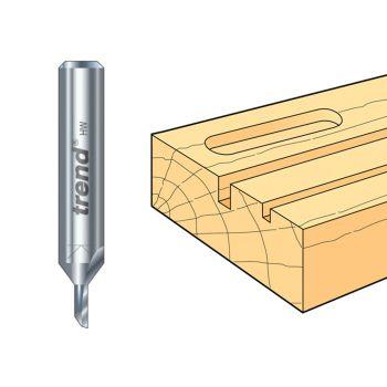 Trend 2/01 x 1/4 TCT Single Flute Cutter 1.5 x 6.0mm - TRE20114TC