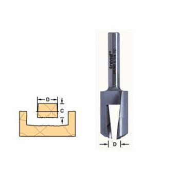Trend 24/80 x 1/4 TCT Plug Maker No.8 - TRE248014TC