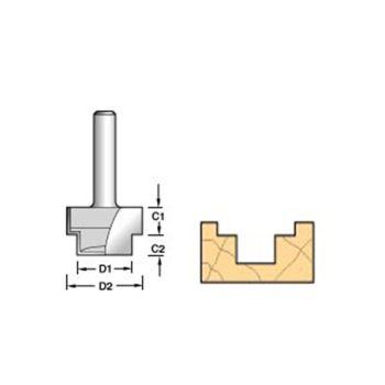 Trend 36/19 x 1/2 TCT Strip Recesser 9.5 x 19 x 13 x 6mm - TRE361912TC
